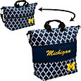 Michigan Wolverines Quatrefoil Expandable Tote