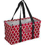 NC State Wolfpack Quatrefoil Picnic Caddy