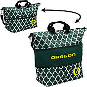 Oregon Ducks Quatrefoil Expandable Tote