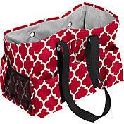 Wisconsin Badgers Quatrefoil Junior Caddy