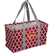 Iowa State Cyclones Quatrefoil Picnic Caddy