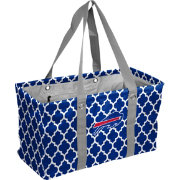 Buffalo Bills Quatrefoil Picnic Caddy