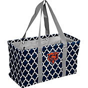 Chicago Bears Quatrefoil Picnic Caddy