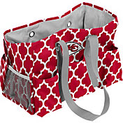 Kansas City Chiefs Quatrefoil Junior Caddy