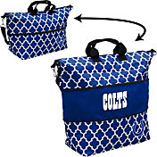 Indianapolis Colts Quatrefoil Expandable Tote