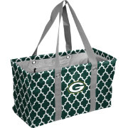 Green Bay Packers Quatrefoil Picnic Caddy