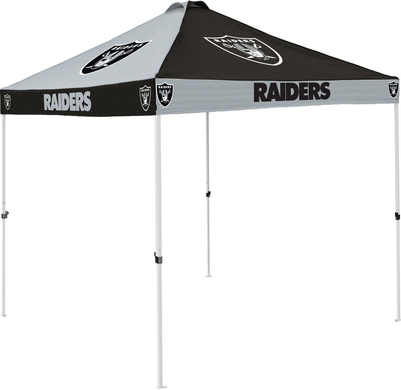 Oakland Raiders Checkerboard Tent