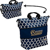 Los Angeles Rams Quatrefoil Expandable Tote