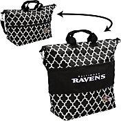 Baltimore Ravens Quatrefoil Expandable Tote