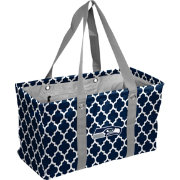 Seattle Seahawks Quatrefoil Picnic Caddy