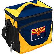 Logo State of Arizona Flag 24 Can Cooler Bag