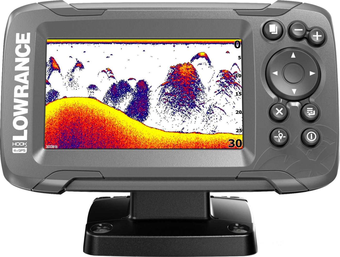 Lowrance HOOK2-4x GPS Fish Finder with Bullet Transducer