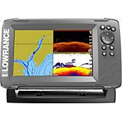 Lowrance HOOK2-7 SplitShot GPS Fish Finder with US/CAN NAV+ Bundle