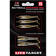 LIVETARGET BaitBall Spinner Rig Tail Interchangeable Pack