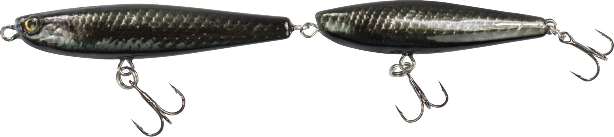 Lunkerhunt Link Topwater Lure, Black Mamba