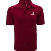 Levelwear Men's Alabama Crimson Tide Crimson Sway Polo