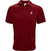 Levelwear Men's Alabama Crimson Tide Crimson Helium Polo