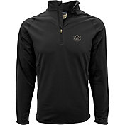 Levelwear Men's Auburn Tigers Black Metro Quarter-Zip Pullover