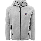 Levelwear Men's Auburn Tigers Grey Titan Full-Zip Jacket