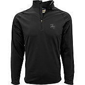 Levelwear Men's Baylor Bears Black Metro Quarter-Zip Pullover