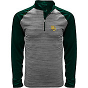 Levelwear Men's Baylor Bears Grey Vandal Quarter-Zip Shirt
