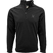Levelwear Men's Cal Golden Bears Black Metro Quarter-Zip Pullover