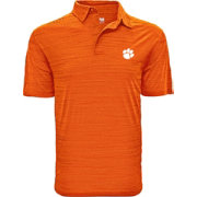 Levelwear Men's Clemson Tigers Orange Sway Polo