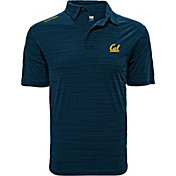 Levelwear Men's Cal Golden Bears Blue Sway Polo
