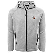Levelwear Men's Florida State Seminoles Grey Titan Full-Zip Jacket