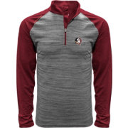 Levelwear Men's Florida State Seminoles Grey Vandal Quarter-Zip Shirt