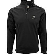Levelwear Men's Kansas Jayhawks Black Metro Quarter-Zip Pullover