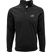 Levelwear Men's Oklahoma State Cowboys Black Metro Quarter-Zip Pullover