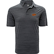 Levelwear Men's Oklahoma State Cowboys Grey Sway Polo