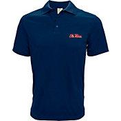 Levelwear Men's Ole Miss Rebels Blue Helium Polo