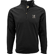 Levelwear Men's Maryland Terrapins Black Metro Quarter-Zip Pullover
