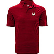 Levelwear Men's Maryland Terrapins Red Sway Polo