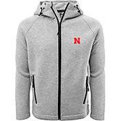 Levelwear Men's Nebraska Cornhuskers Grey Titan Full-Zip Jacket