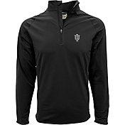 Levelwear Men's Indiana Hoosiers Black Metro Quarter-Zip Pullover