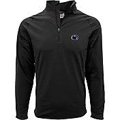 Levelwear Men's Penn State Nittany Lions Black Metro Quarter-Zip Pullover