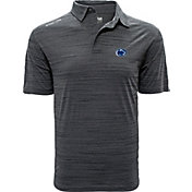 Levelwear Men's Penn State Nittany Lions Grey Sway Polo