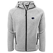 Levelwear Men's Penn State Nittany Lions Grey Titan Full-Zip Jacket