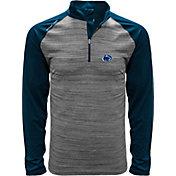 Levelwear Men's Penn State Nittany Lions Grey Vandal Quarter-Zip Shirt