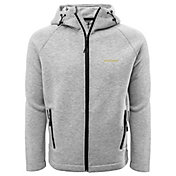 Levelwear Men's Oregon Ducks Grey Titan Full-Zip Jacket