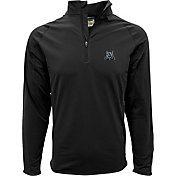 Levelwear Men's Arizona Wildcats Black Metro Quarter-Zip Pullover