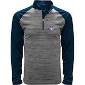 Levelwear Men's Arizona Wildcats Grey Vandal Quarter-Zip Shirt