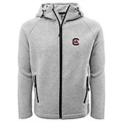 Levelwear Men's South Carolina Gamecocks Grey Titan Full-Zip Jacket