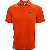 Levelwear Men's Syracuse Orange Orange Helium Polo