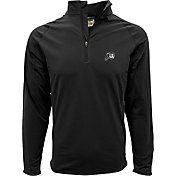 Levelwear Men's Utah Utes Black Metro Quarter-Zip Pullover