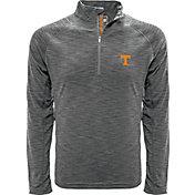 Levelwear Men's Tennessee Volunteers Gray Mobility Long Sleeve Quarter-Zip Shirt