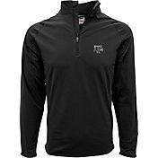 Levelwear Men's Texas A&M Aggies Black Metro Quarter-Zip Pullover